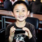 《日本国憲法前文》演説者 工藤志昊 6歳