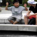 上野公園 国際交流発信ー工藤志昊 9歳